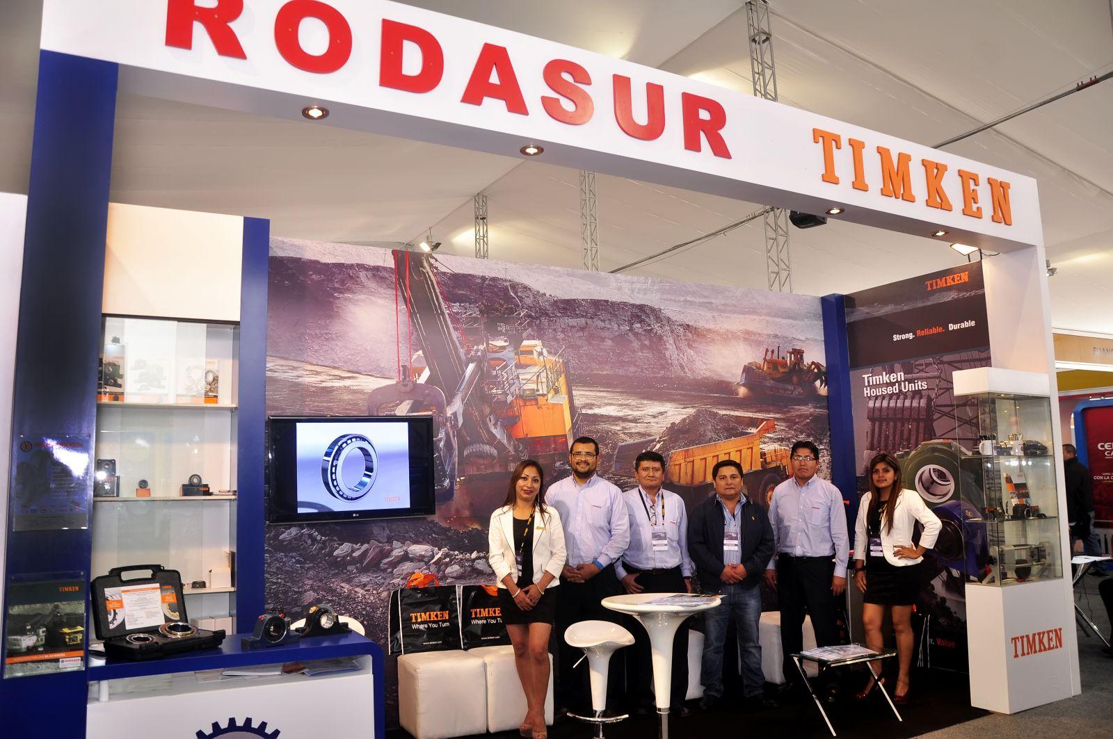 RODASUR estuvo presente en la EXPOMINA 2014